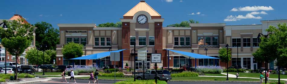 An open-air shopping center with great shopping and dining, many family activities in the Hunterdon County, NJ area